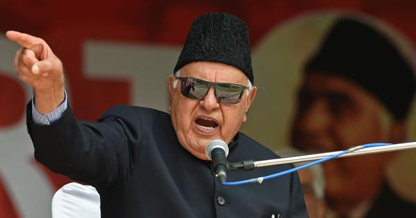Jammu and Kashmir: Farooq Abdullah's detention under PSA extended by three months