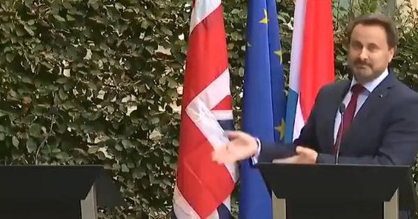 Watch: UK PM Boris Johnson fled press conference after being booed in Luxembourg