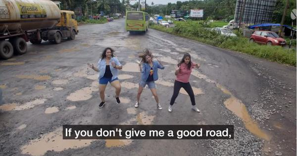 Watch: A YouTuber sings about Goa's pothole problem in this hilarious spoof of a '70s pop song