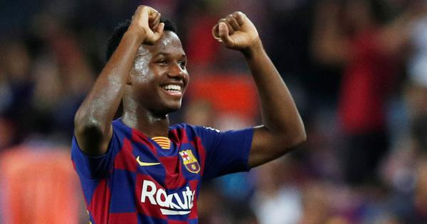 Football: 16-year-old Barcelona starlet Ansu Fati granted Spanish citizenship