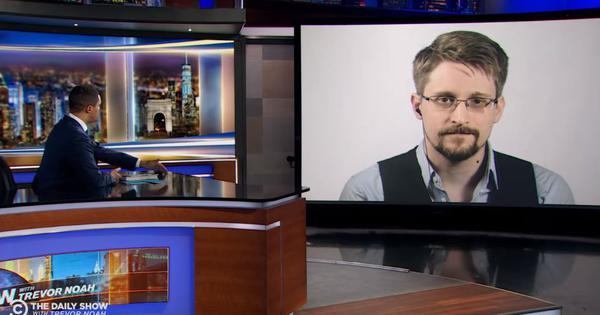 Edward Snowden on Trevor Noah's show: 'Consent is meaningful only if it is informed'