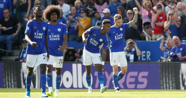 Premier League: James Maddison stunner sinks Tottenham as Leicester jump to second spot in the table