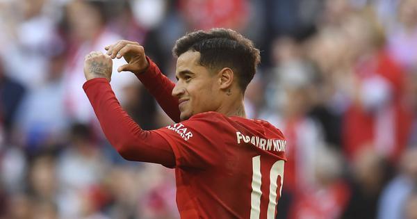 Bundesliga: Coutinho scores first Bayern Munich goal, Leipzig beat Werder Bremen to retain top spot