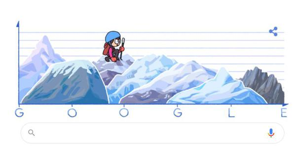Google doodles marks 80th birthday of Japanese mountaineer Junko Tabei, first woman to scale Everest