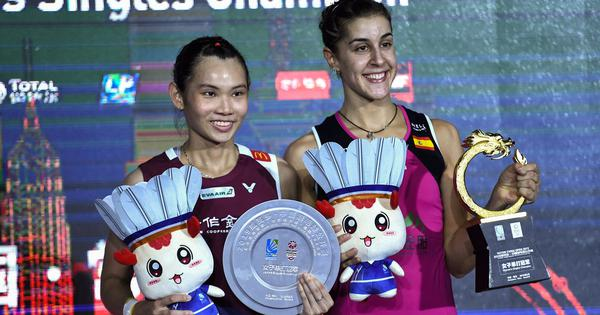 I cannot describe my feelings: On injury comeback trail, Carolina Marin elated after China Open win