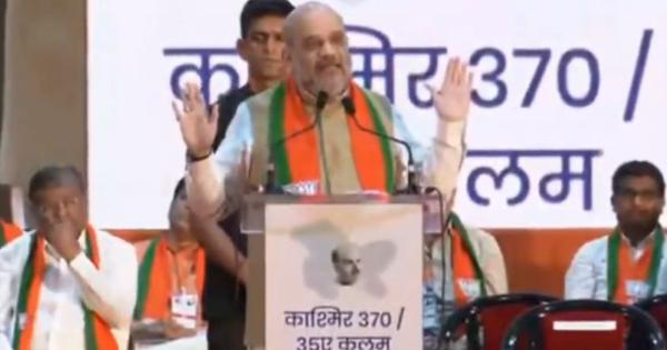 Jawaharlal Nehru is the reason behind PoK's existence, says Union Home Minsiter Amit Shah