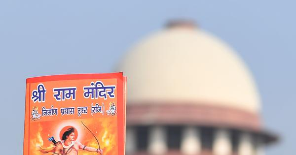 Ayodhya case: Muslim group prefers out-of-court settlement, says land should be gifted to Centre
