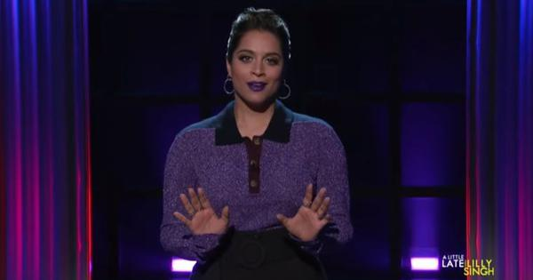 'It takes a lot to be yourself on camera': Watch Lilly Singh's experience of hosting a TV show