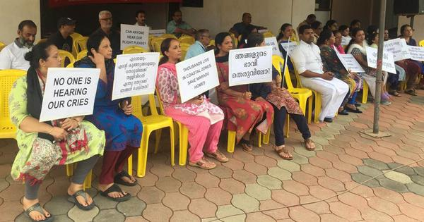 Kerala: Authorities start evicting people from four apartment blocks in Kochi marked for demolition