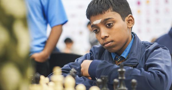 Praggnanandhaa joint second after Mamedyarov withdraws from eighth round of Gibraltar Chess festival