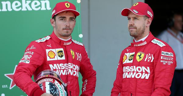 Formula One: Vettel admits he has to perform better after being out-scored by Leclerc in 2019
