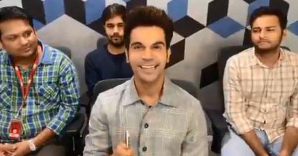Watch: Actor Rajkummar Rao sells a pen to Leonardo DiCaprio, or does he?