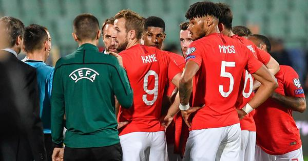 Police raid Bulgarian Football Union after chiefs resign over racist abuse of England players