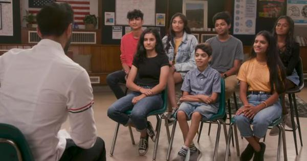 Watch: What's it like to 'grow up Desi' in the US nowadays? Hasan Minhaj talks to children
