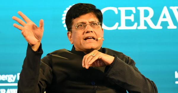 Piyush Goyal says industry practices against country's interest, criticises Tata Group: Report