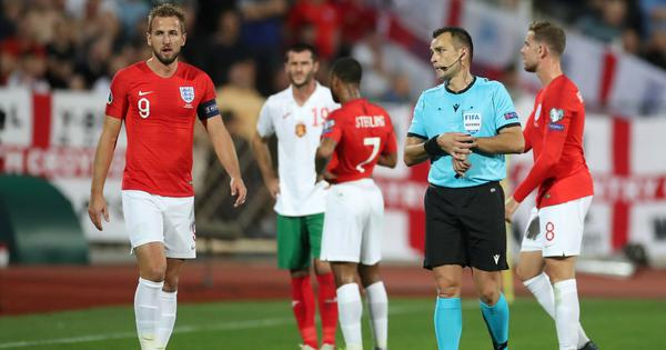Bulgaria chief resigns after racist abuse from fans mar Euro 2020 qualifier against England