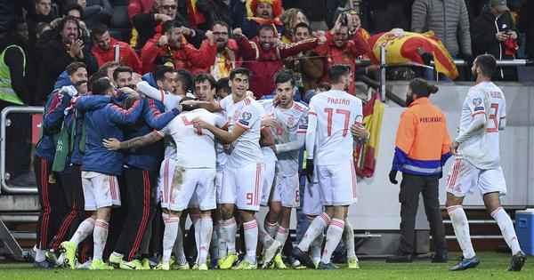 Spain qualify for Euro 2020 with late Sweden draw; Finland, Switzerland inch closer with victories