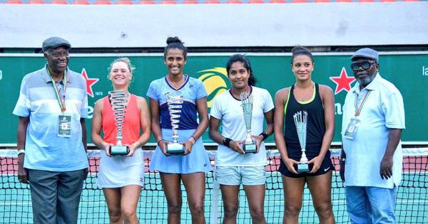 Indian tennis: Prajnesh, Ankita Raina advance in China; Rutuja Bhosale wins doubles title in Lagos
