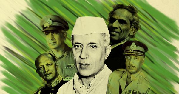 A new book argues that Jawaharlal Nehru did not lead or manage his armed forces competently enough