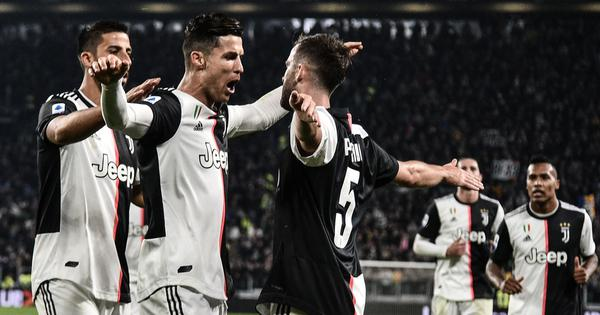 Serie A: Cristiano Ronaldo scores 701st career goal as Juventus beat Bologna to remain on top