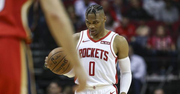 NBA: Westbrook stars as Rockets down reigning champions Raptors; Suns beat Pelicans in thriller
