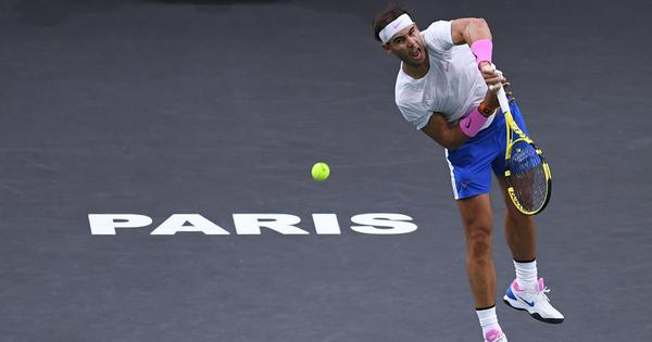 Tennis: Rafael Nadal confirms he will play Paris Masters in November