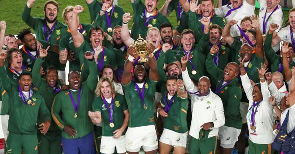Rugby: Inspirational captain Siya Kolisi leads racial transformation of world champions Springboks