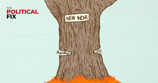 The Political Fix: Article 370 gone and Ram Temple on the way: What does Modi's New India look like?