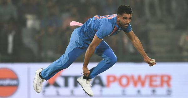 ICC T20I rankings: Deepak Chahar jumps 88 places in bowlers' list after best-ever figures