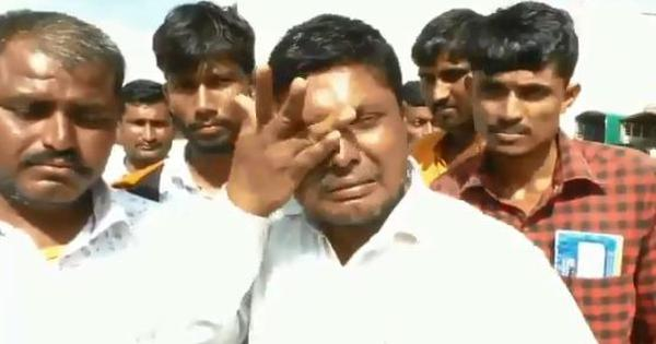 Watch: Maharashtra farmer breaks down after selling his onion crop at just Rs 8 per kg