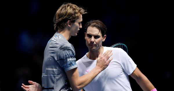 ATP Finals: Nadal plays down injury concerns after losing opener to defending champ Zverev