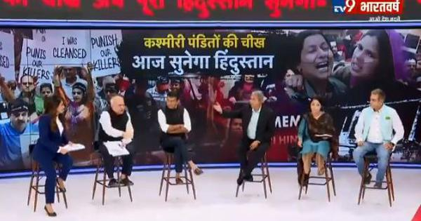 Caught on TV: Ex-Army officer wants 'death for death, rape for rape' in favour of Kashmiri Pandits