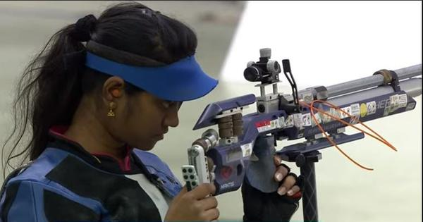 Shooting World Cup Final: Elavenil Valarivan leads the field to win 10m air rifle gold