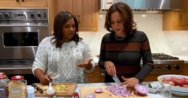 US senator Kamala Harris and Mindy Kaling's dosa-making skills charm some on Twitter, annoy others