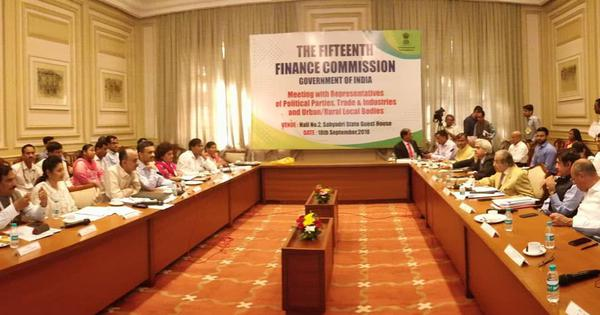 Centre extends 15th Finance Commission's term by a year