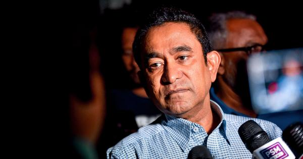 Maldives: Ex-President Yameen found guilty of money laundering, sentenced to five years in jail