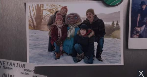 Watch: ET returns to Earth to be reunited with friend Elliott and his family in this new TV ad