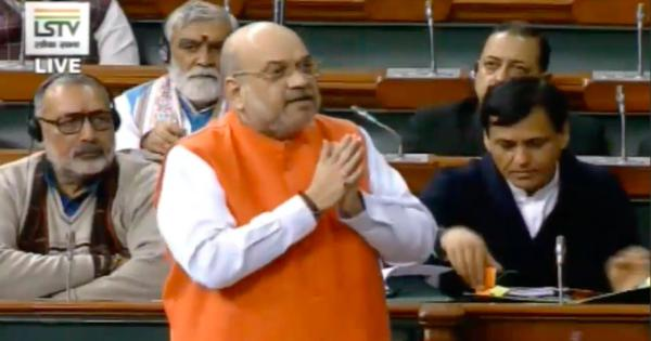 Parliament: Congress divided India on basis of religion, says Amit Shah defending Citizenship Bill