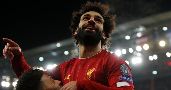 Watch: Mohamed Salah scores goal from 'difficult' angle in Liverpool's win against Salzburg
