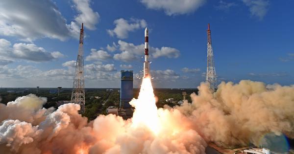 ISRO launches surveillance satellite RISAT-2BR1