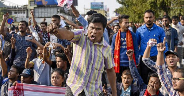 Two dead in Assam as protests against Citizenship Act intensify, internet blocked in Meghalaya