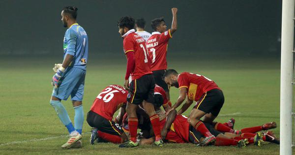 I-League: Marti Crespi's late goal breaks TRAU hearts as East Bengal go top with the win