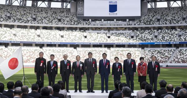 Japan unveils main Tokyo Olympics stadium with special features to counter heat