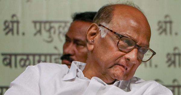 Election Commission says it did not ask tax department to serve notice to NCP chief Sharad Pawar