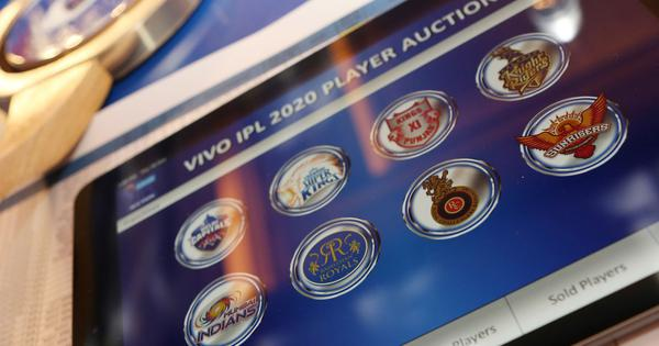 IPL 2021 player auction to be held on February 18 in Chennai