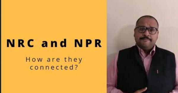 Watch: Scroll.in explains how Amit Shah's NRC has already begun –with the NPR