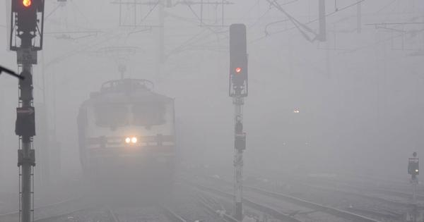 Marginal respite from cold spell in North India, over 20 trains delayed due to low visibility
