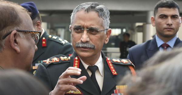 Chinese threat to India persists despite LAC disengagement, says Army chief