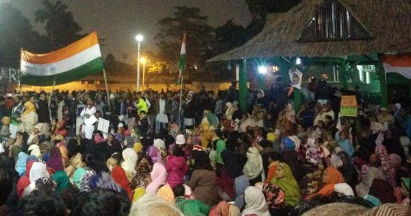 Watch: Inspired by Delhi's Shaheen Bagh sit-in, women lead anti-CAA protest at Kolkata's Park Circus