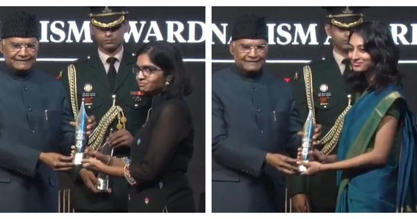 Scroll.in's Mridula Chari, Vinita Govindarajan win Ramnath Goenka award for environment series